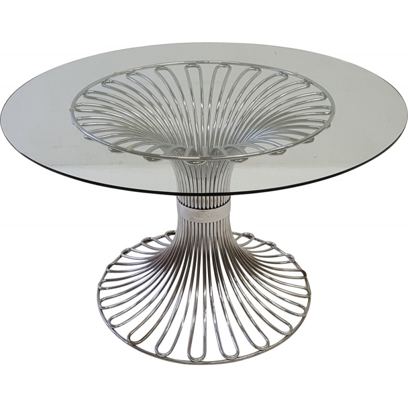 Table à manger design Gastone Rinaldi vintage edition Rima – 1970